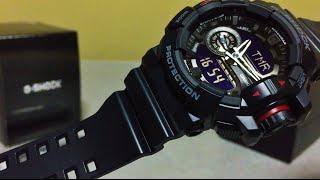 G-Shock GA-400-1BJF Rotary basic black (unboxing)