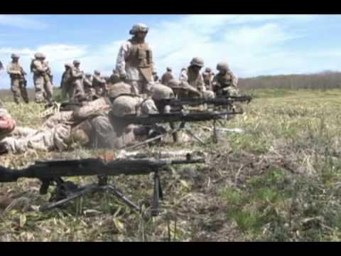 Marines execute arty training