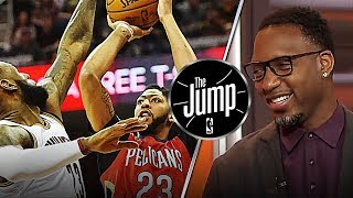 Tracy McGrady Got Anthony Davis Second On His MVP List Over LeBron James   The Jump