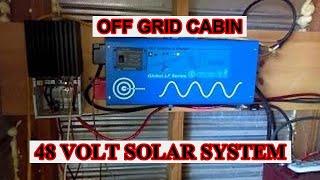 3.4 kill a watt solar system  48 volt