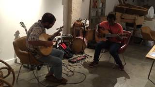 Bairro Alto Lisbon Traditional Angolan music with Joao Mouro and Shale Correia