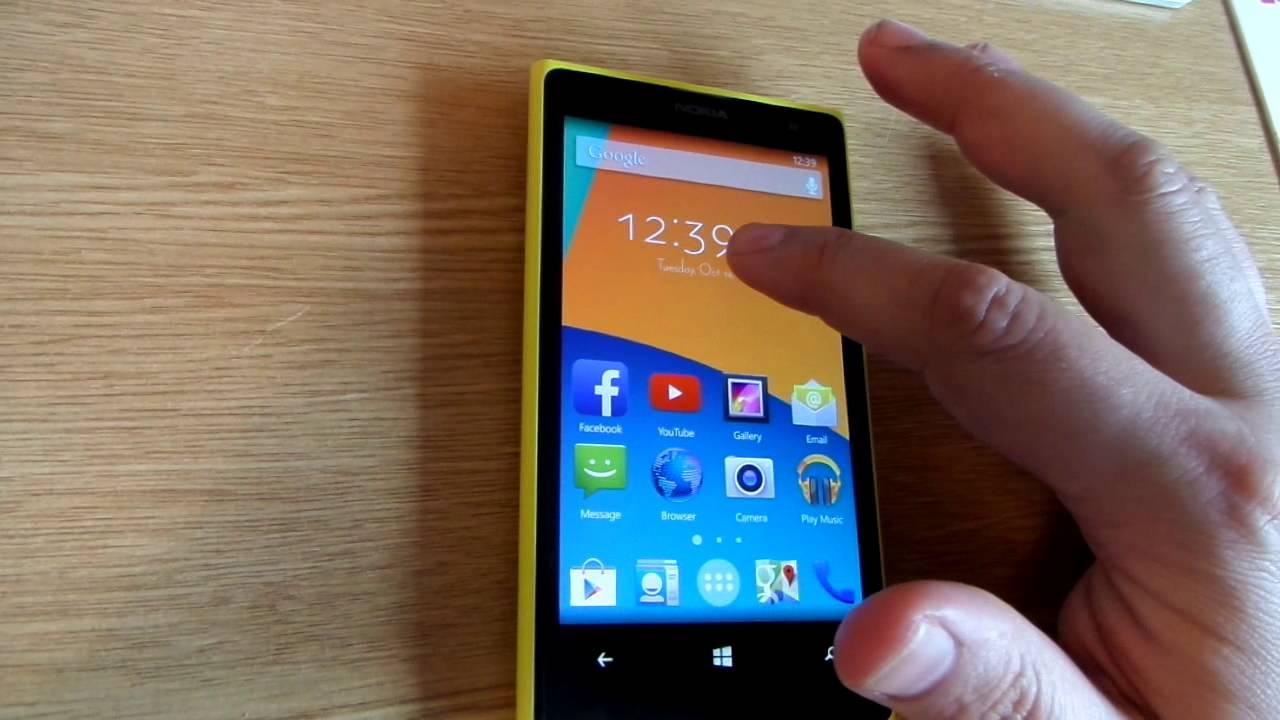 191 C 243 Mo Ser 237 A Un Nokia Lumia 1020 Con Android Kitkat O Ios