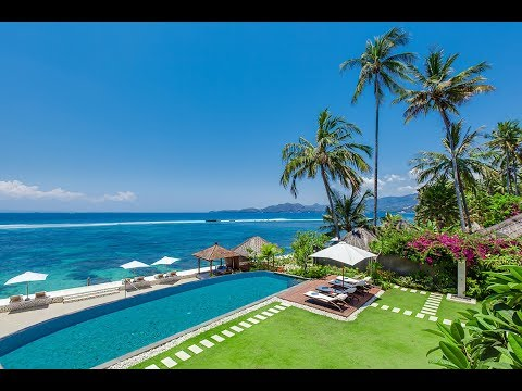 Tirta Nila Beach House, 4-bedroom Villa, Candidasa, Bali