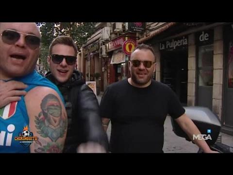 Los ultras del Nápoles toman Madrid