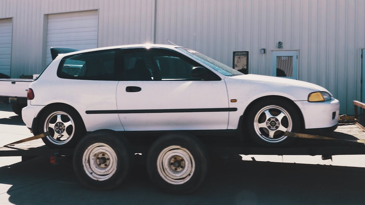 Putting A New K24a In My 94 Honda Civic Hatchback + The INSANE Krowrx Acura  Integra Exo Car!