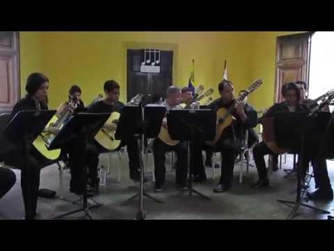 """El Criollito"" Raul Borgues. Interpreta: Ensamble de Guitarras ""Armando Reverón"""