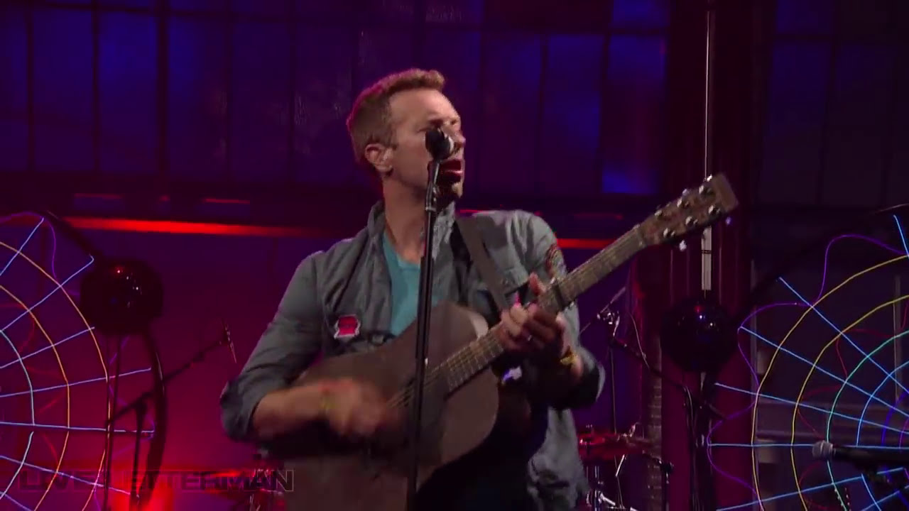 Download Coldplay - Mylo Xyloto/Hurts Like Heaven (Live on Letterman)