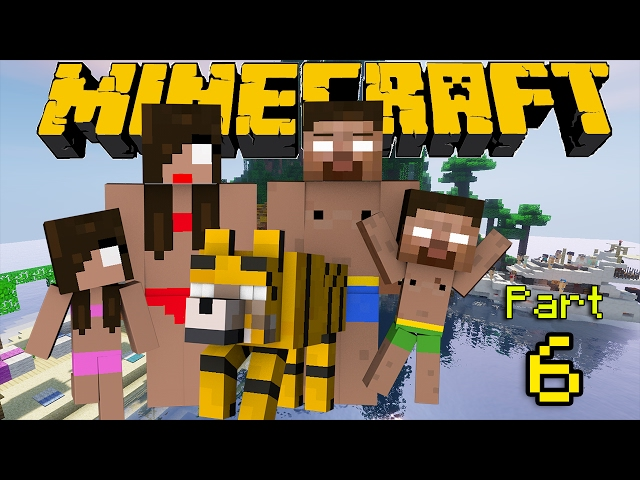If Herobrine had a Family - Minecraft Part 6