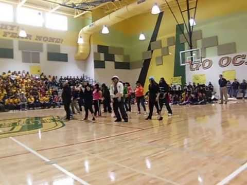 Audie Murphy Ms Pep Rally Teacher Dance Youtube
