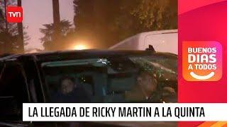 Ni Ricky Martin se salvó: atacaron a piedrazos su auto en Viña del Mar