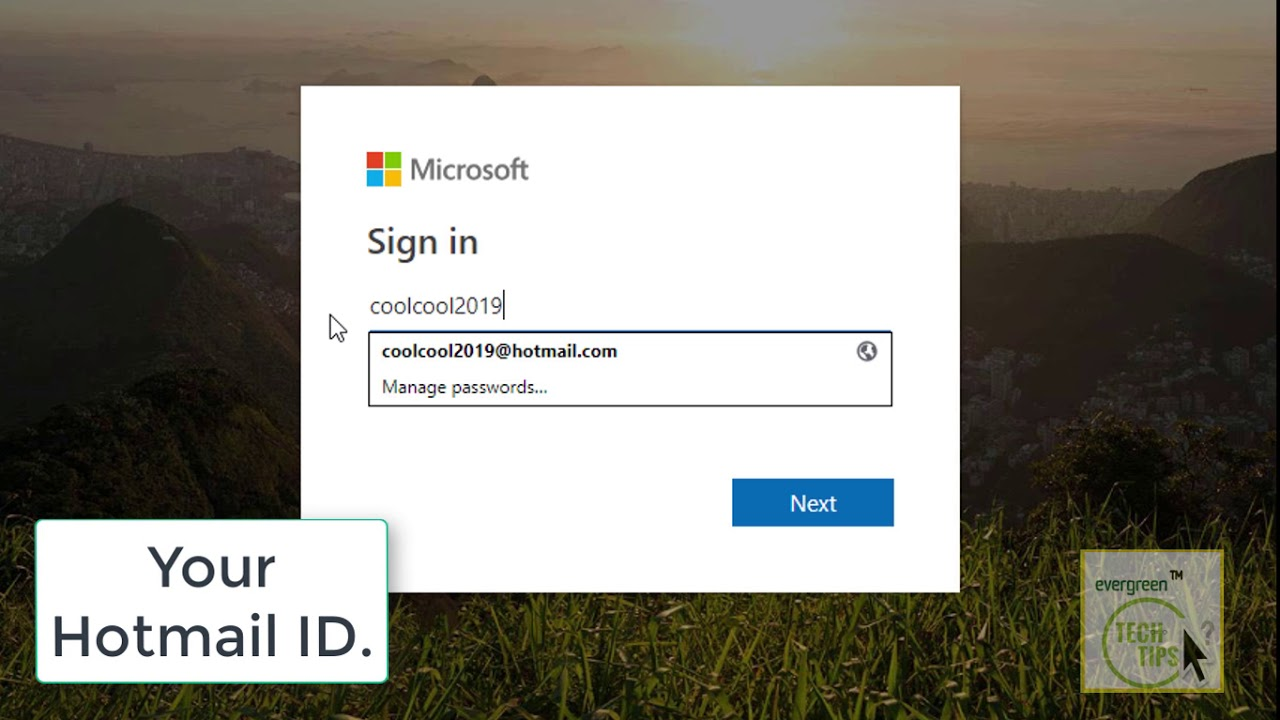 Hotmail Login 2019 || Hotmail.com Sign In || Hotmail Email ...
