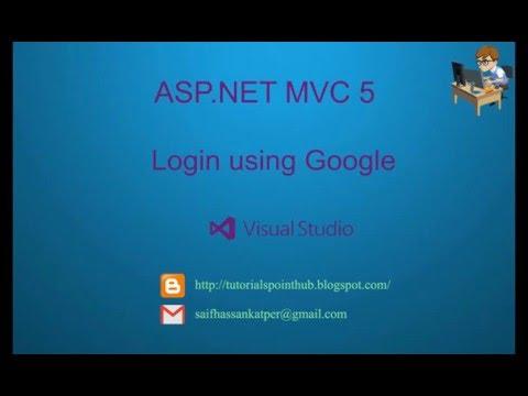 ASP.Net MVC5 - Login using Google | Facebook | SQL Server