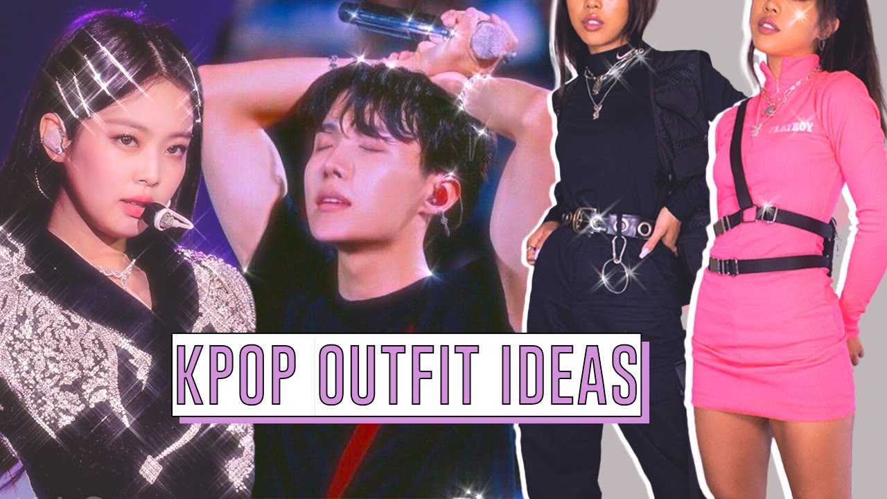 20 Kpop Inspired Outfit Ideas Bts Hobicore Concert Outfits Youtube