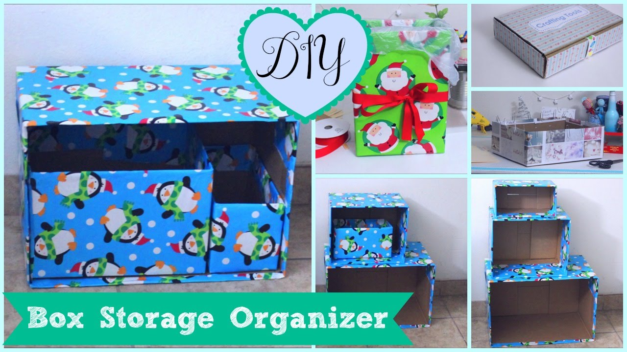 DIY Box Organizer