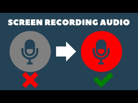 How To Enable iPhone Screen Recording Audio | Handy Hudsonite