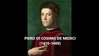 PIERO DI COSIMO DE MEDICI: IN 4 MINUTES | LAETITIANA
