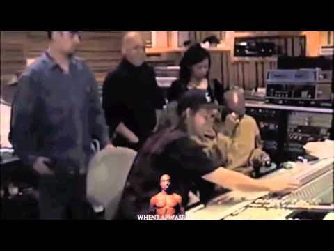 Rare Tupac Studio Footage With Johnny J...