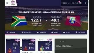 live cricket south africa vs west indies t20 world cup 2016 live cricket streaming match today