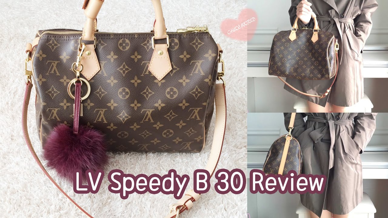 956f24d124cd Louis Vuitton Bandouliere 30 Monogram Review