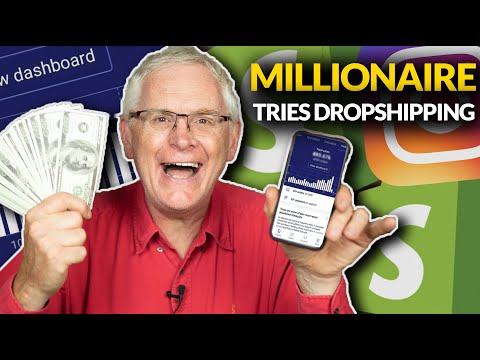 Millionaire Tries The Dropshipping Side Hustle! (for the first time)