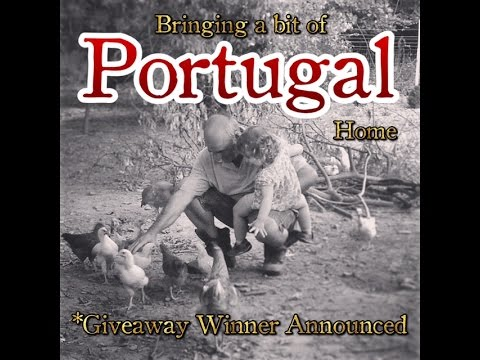 Bringing a Little Bit of PORTUGAL Home to NY Parents Traditions #1 & Giveaway Winner