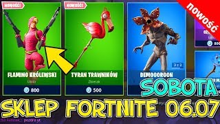 FORTNITE 06.07 SHOP-NEW SKIN Flaming Royal, pelouse Tyrant, Demoorgon, commandant