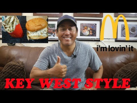 CATCH AND COOK - McDonald's Filet-O-Fish W/ Bait Fries - Key West Style