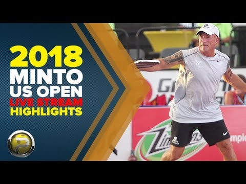 Amazing Live Stream Action from the 2018 Minto US Open Pickleball Championships