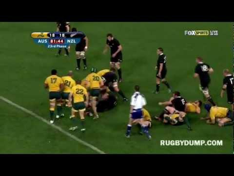 Wallabies vs All Blacks 2012 - Bledisloe Cup Third Test - Brisbane