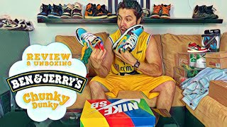 Nike SB BEN & JERRY´S CHUNKY DUNKY REVIEW Y UNBOXING