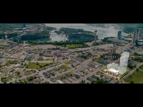 Niagara Falls The Stanley District Luxury Condo. 尼亚加拉区最值得投资的公寓盘。