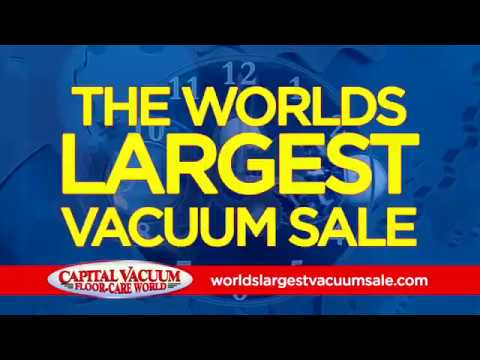 Capital Vacuum's Worlds Largest Vacuum Sale © Vacuum Raleigh Cary NC