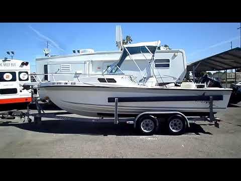 1995 Invader Reef Runner 215 Virada 21ft FIshing Boat