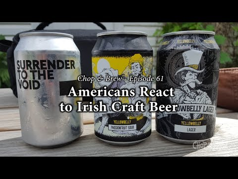 Chop & Brew | Americans React to Irish Craft Beer