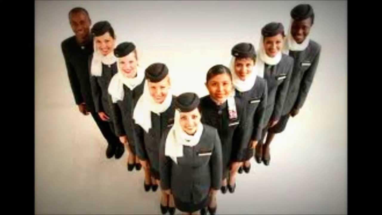 etihad cabin crew - YouTube