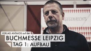 Buchmesse Leipzig - Tag 1: Aufbau