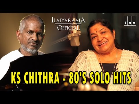 Ks Chithra 80's Solo Hits  Tamil Movie Songs  Audio Jukebox  Ilaiyaraaja Official