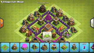 Clash Of Clans| Th5 Trophy Base 2018