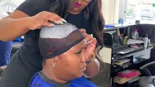 Partial Quick Weave | Bowl Cut