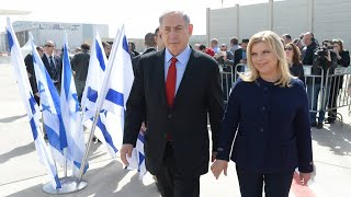 From youtube.com: Sara and Benjamin Netanyahu are in legal trouble {MID-162579}