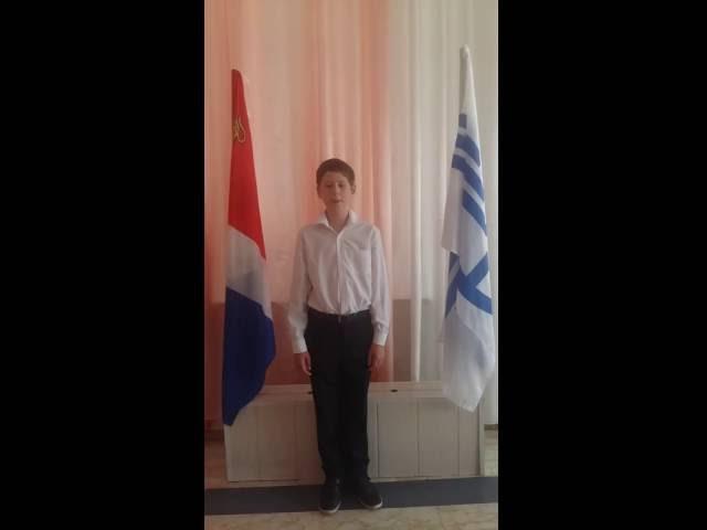 Юрий Воробьёв читает произведение «После половодья» (Бунин Иван Алексеевич)
