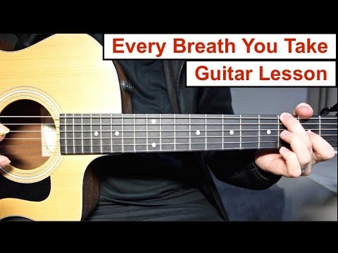 Every Breath You Take - The Police | Guitar Lesson (Tutorial) How to play the Main Riff
