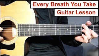 Baixar Every Breath You Take - The Police | Guitar Lesson (Tutorial) How to play the Main Riff
