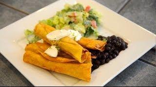 Chicken Flautas & Jicama Salad - $10 Or Less Meal