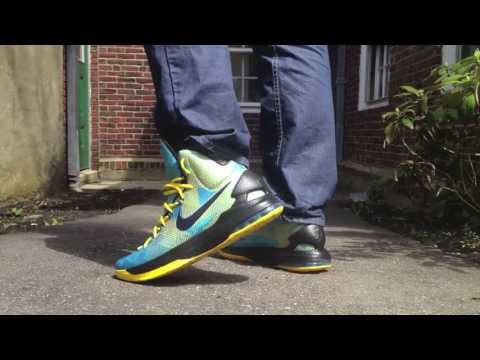 Kevin Durant V 5 On Feet Review - N7 Series