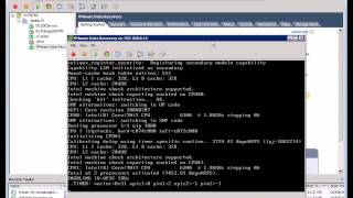 VMware Data Recovery - install and configure - Part 1