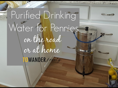 Our RV & Home Water Filter