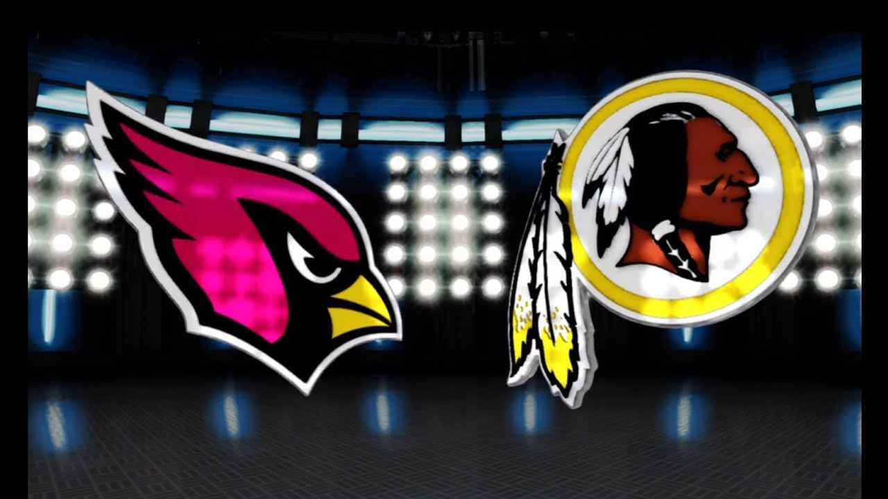 Image result for Arizona Cardinals vs. Washington Redskins