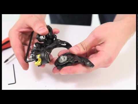 How To Repair Your Shimano Xtr Rear Derailleur Youtube