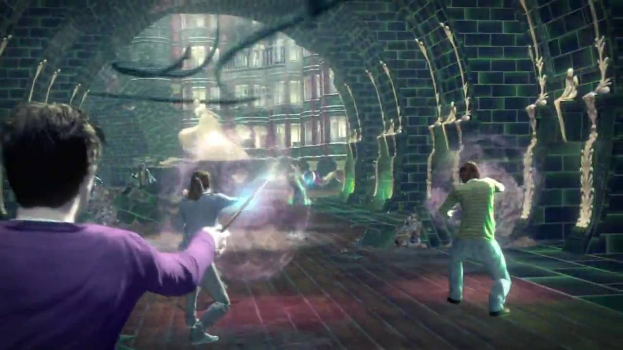 Harry Potter And The Deathly Hallows Video Game Ds Pc Ps3 Wii Xbox 360 Debut Trailer Hd Youtube